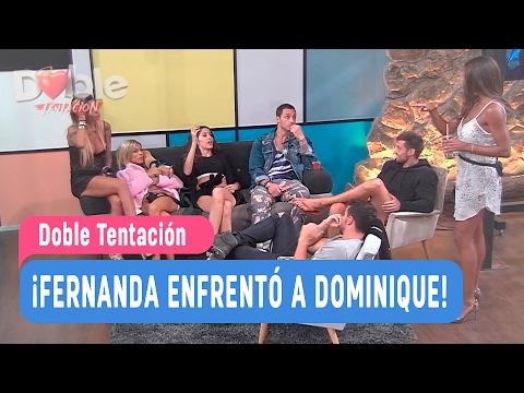 Doble Tentación - ¡Fernanda enfrentó a Dominique! / Capítulo 11