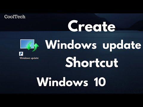 How To Create A Windows Update Shortcut In Windows 10
