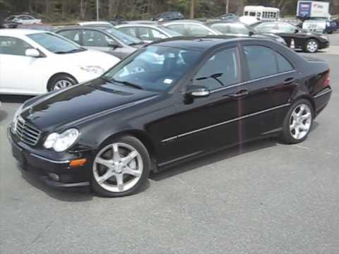 Mercedes Benz C230 Black Walkaround And Interior Youtube