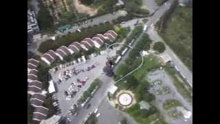 Тайланд, ПАттайя, Отель Паттайя Парк, спуск с башни.(Тайланд,Паттайя,Спуск с башни отеля Паттайя Парк,56 этаж,Андрей кореш снимает меня на видео., 2014-10-04T06:13:18.000Z)