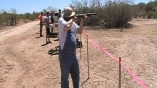 Shooting the Japanese T-100 SMG in Arizona