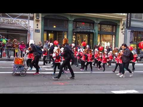 San Francisco Chinese New Year Parade 2018 Yick Wo Elementary School