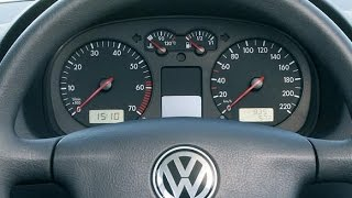 Cum resetezi interval service / ulei VW Golf 4, Bora in 4 PASI SIMPLI