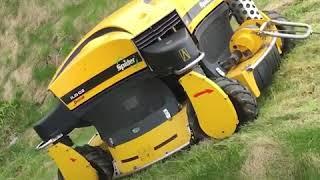 Robot lawn mower can cut grass uphill