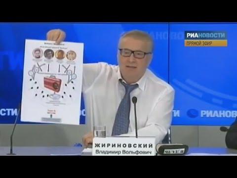 Vladimir Zhirinovsky exposing Navalny (English subs)