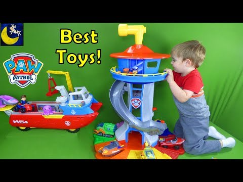 Best Paw Patrol Toys for Christmas 2017 Gift Ideas My Size Lookout Tower Sea Patroller Top 10 Toys