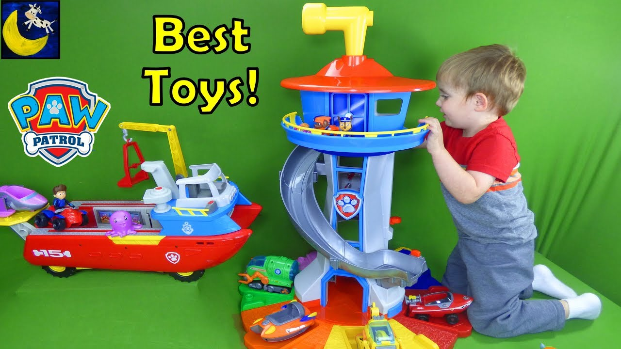 best paw patrol toys for christmas 2017 gift ideas my size lookout tower sea patroller top 10 toys - Best Toys For Christmas