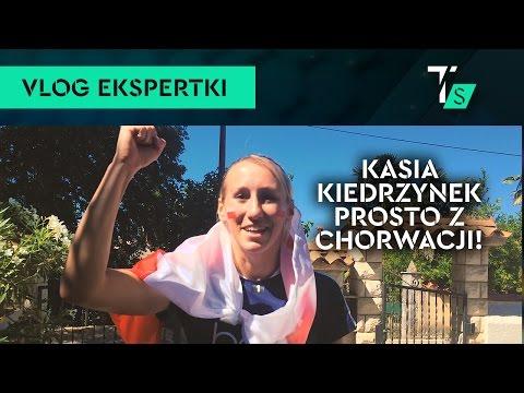 Katarzyna Kiedrzynek o reprezentacji - prosto z Chorwacji