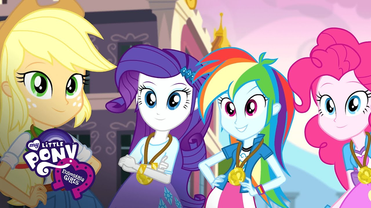 MLP: Equestria Girls Friendship Games - 'The CHS Rally ...