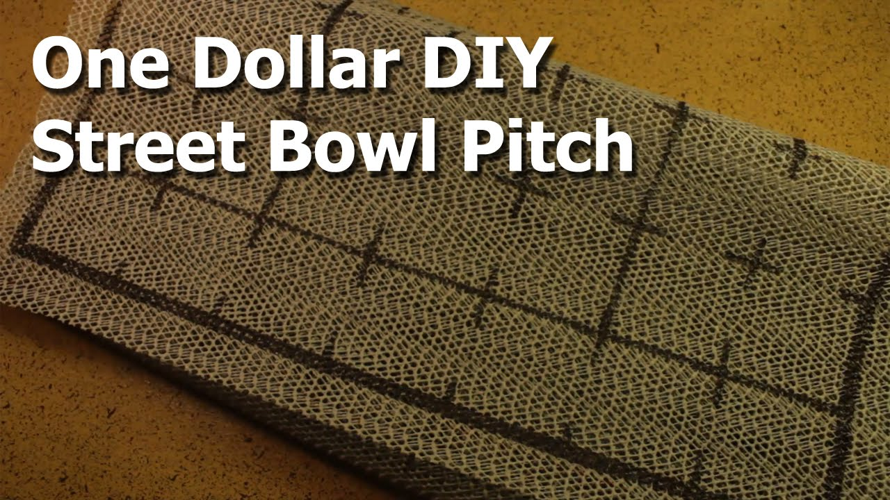 how to make a blood bowl pitch