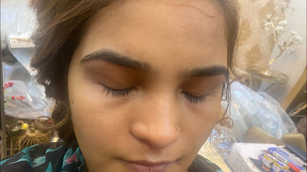 How to do makeup on small eyes   how to make your eyes look Bigger tutorial   Farah salon  