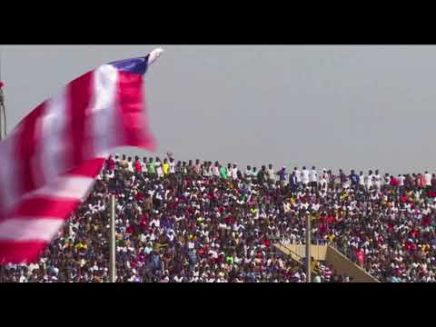 George Weah sworn in as Liberia's new president