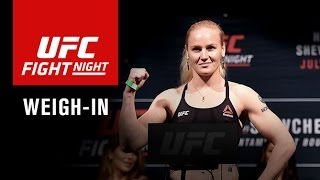 UFC Fight Night Denver: Official Weigh-in