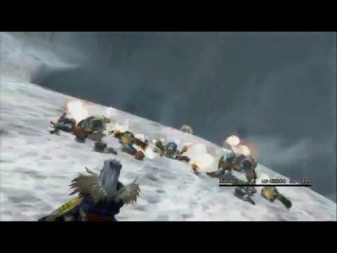 Final Fantasy X: Ronso Rage (Blue Magic) Demonstration