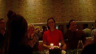 SYFY I Behind the Scenes: Happy (Belated) Birthday, Kat Barrell!