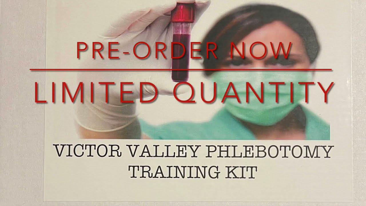Phlebotomy Training Kit!