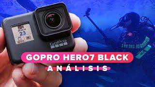 La GoPro Hero7 Black se enfrenta a los tiburones