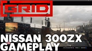 Grid 2019 Nissan 300ZX Z32 Modified at San Francisco in the Rain Gameplay