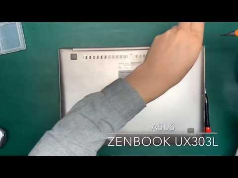 Asus Zenbook UX303L disassembly