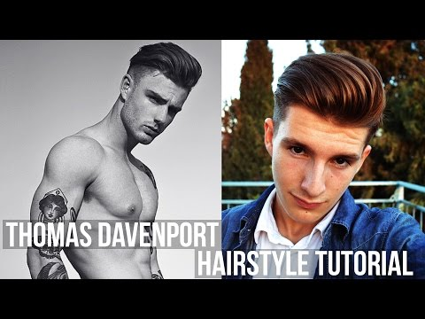 Thomas Davenport Hairstyle Tutorial | Volumized Long Hair | Men's Hair 2016