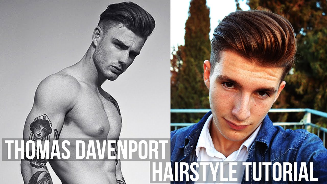 Thomas Davenport Hairstyle Tutorial Volumized Long Hair