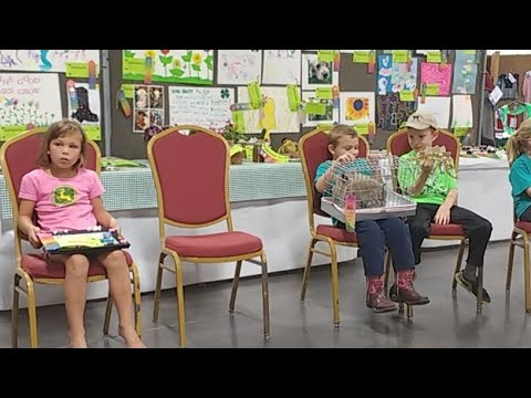 2017 Lancaster County Super Fair - 4-H Clover Kids Show & Tell Part 1