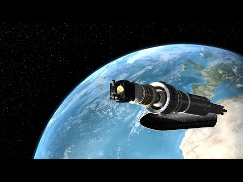 Animation: SmallGEO/H36W-1 reaches orbit