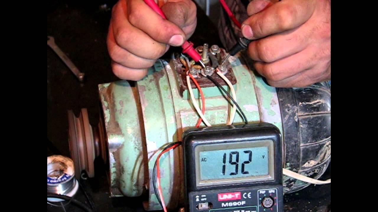 схема подсоединения электродвигателя 75 ампер