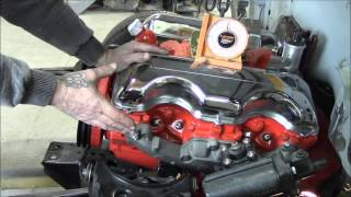 How to install a 409 Big Block in a tri 5 Chevy or a '55 Pontiac