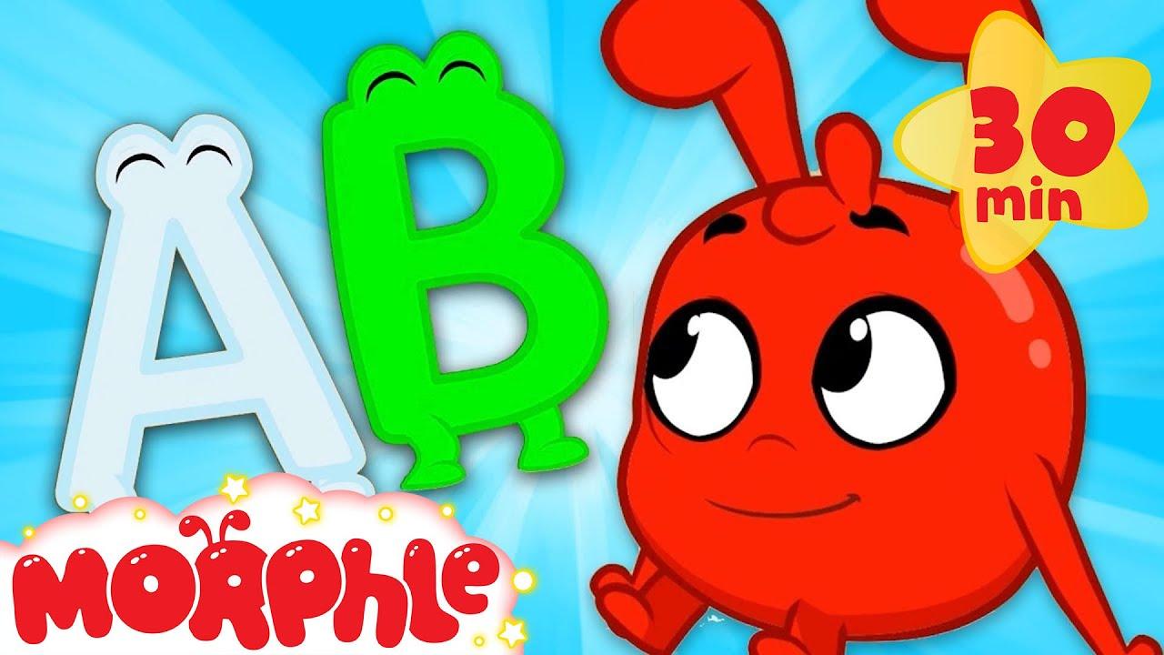 ABCs With Morphle! - My Magic Pet Morphle | Cartoons For Kids | Morphle TV | Mila & Morphle