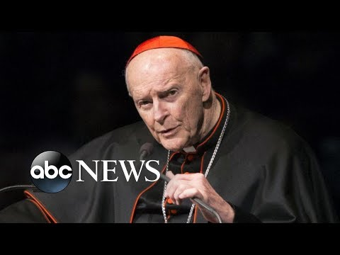 Pope Francis is expelling the former archbishop of Washington, DC