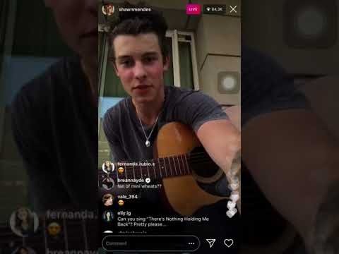 Shawn Mendes live Instagram ALMOST 100K views!