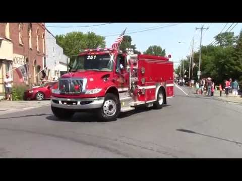 Mooers Labor Day Parade  9-4-16
