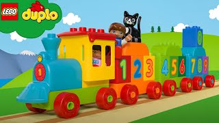 LEGO DUPLO - Learn To Count Numbers Train Songs | Learning For Toddlers | Nursery Rhymes | Kids Song