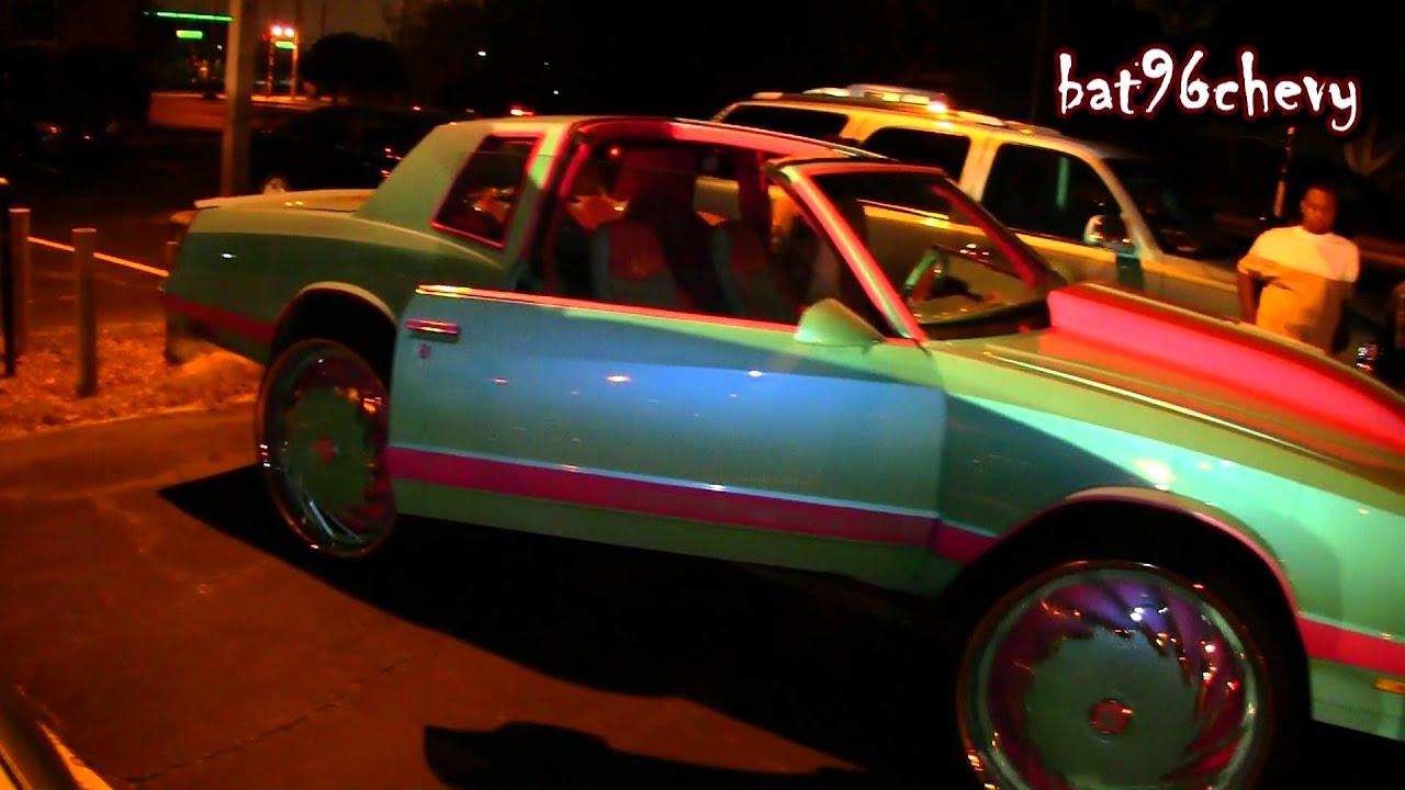"Ss Monte Carlo >> Outrageous Pink/Blue Chevy Monte Carlo SS on 30"" DUB DA U ..."