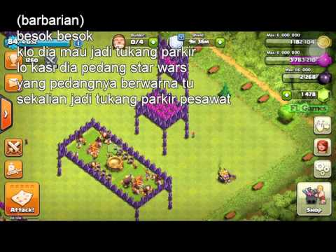 Clash Of Clans Lucu Banget Part By Fl Games
