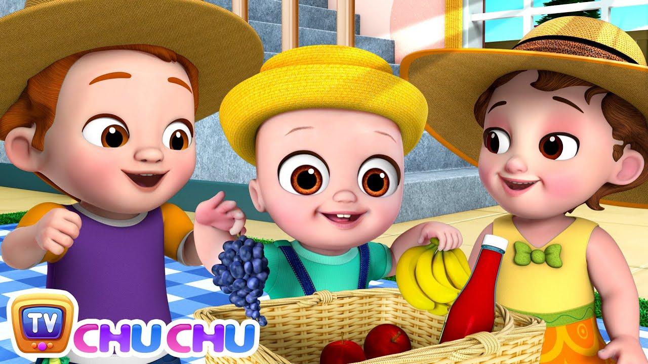 Picnic at Home Song - ChuChu TV Baby Nursery Rhymes and Kids Songs