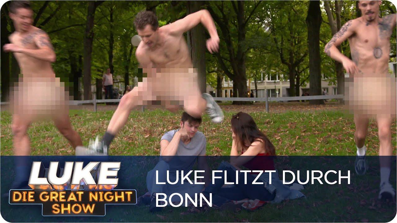 Download Musikvideos im Alltag - Blankziehen in Bonn | LUKE! Die Greatnightshow