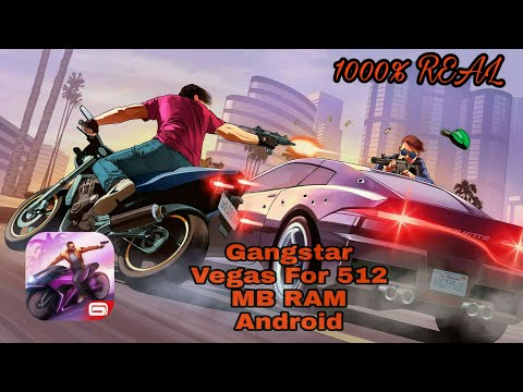Gangstar Vegas Game For 512 MB RAM Android 1000% Working Real With Download And Play