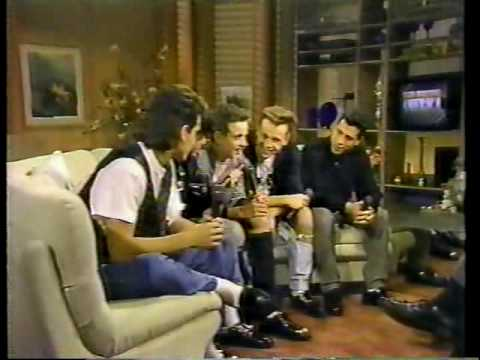 New Kids On The Block on GMA! 1989