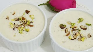 Healthy Creamy Sagudana kheer|carbohydrate aur protine se bharpur kheer||Topiaca Pearl pudding .kwf