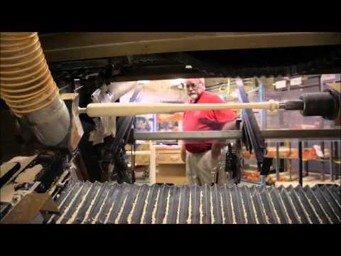Louisville Slugger Making wood bats for the Pros