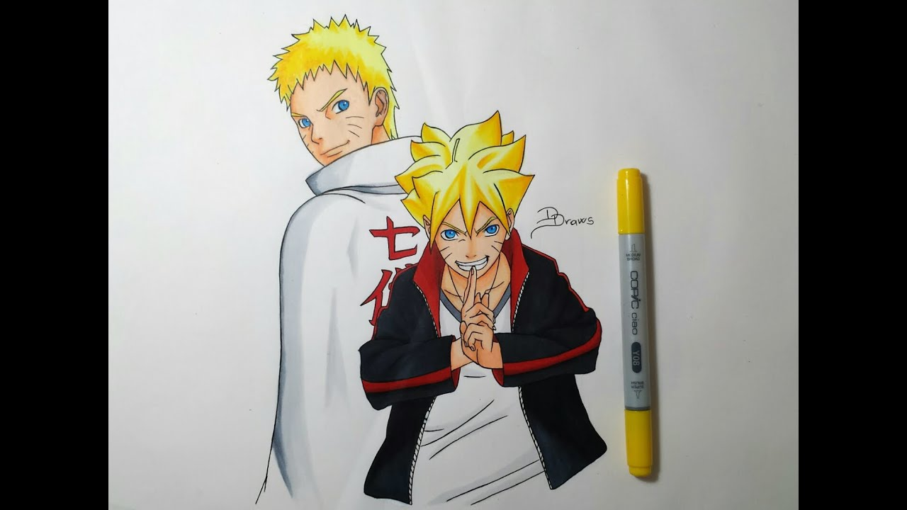 How to draw naruto sage mode easy