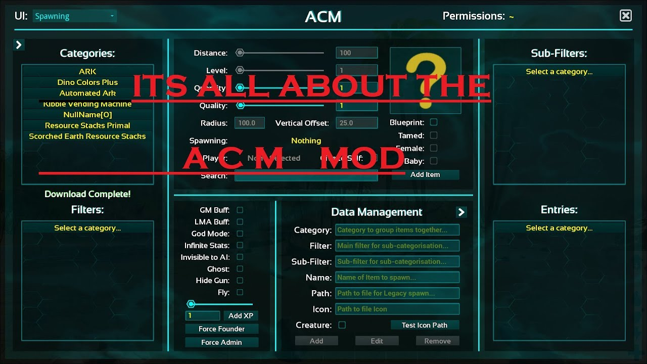 Ark its all about the a c m mod for pc youtube ark its all about the a c m mod for pc malvernweather Gallery