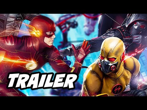 Download Youtube: The Flash Season 4 Arrow Supergirl Crossover Trailer 2 Breakdown