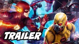 Video The Flash Season 4 Arrow Supergirl Crossover Trailer 2 Breakdown download MP3, 3GP, MP4, WEBM, AVI, FLV November 2017