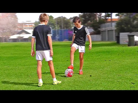 TOP 4  Easy Football Skills for Kids & Beginner  Tutorial