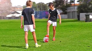 vuclip TOP 4 - Easy Football Skills for Kids & Beginner - Tutorial
