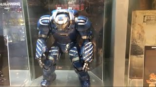 Hot Toys Iron Man Igor and other displays at Toy Hunters