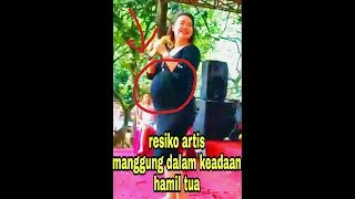Video Hamil tua pun tetap eksis manggung download MP3, 3GP, MP4, WEBM, AVI, FLV November 2018